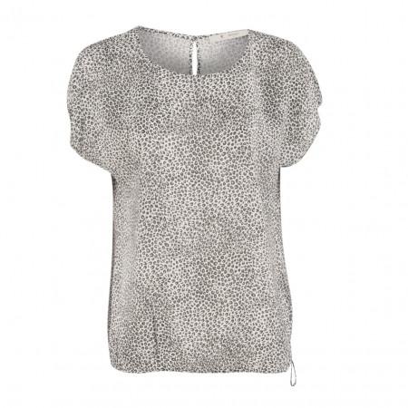SALE % | Monari | Bluse - oversized - Leoprint | Grau online im Shop bei meinfischer.de kaufen
