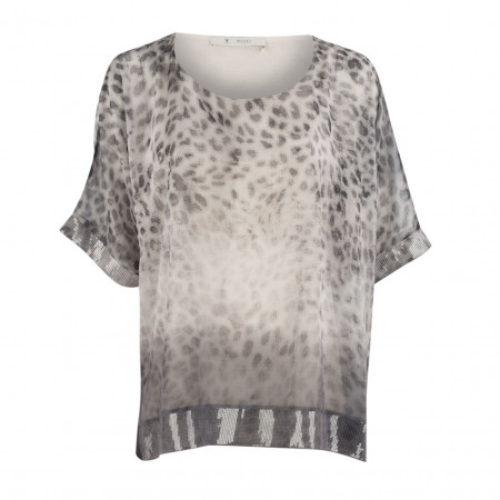 SALE % | Boss Casual | Bluse - oversized - Pailletten | Grau online im Shop bei meinfischer.de kaufen