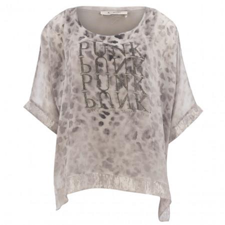 SALE % | Monari | Bluse - oversized - Pailletten | Grau online im Shop bei meinfischer.de kaufen
