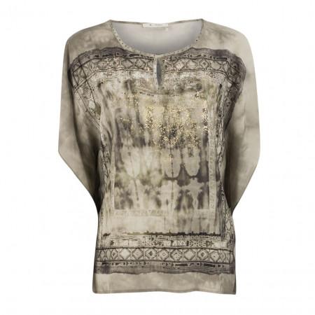 SALE %   Boss Casual   Bluse - oversized - Strassdekor   Grau online im Shop bei meinfischer.de kaufen