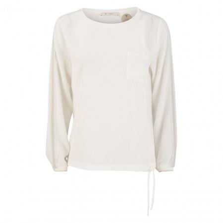 SALE % | Monari | Bluse -  Regular Fit - Zierstreifen | Weiß online im Shop bei meinfischer.de kaufen