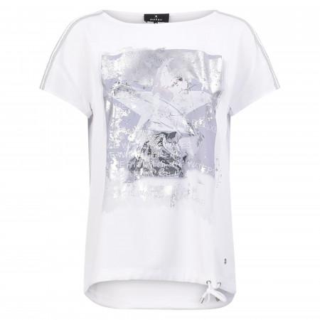 SALE %   Monari   Bluse - Loose Fit - Print   Weiß online im Shop bei meinfischer.de kaufen