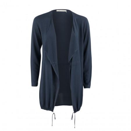SALE % | Boss Casual | Cardigan - Slim Fit - offen | Blau online im Shop bei meinfischer.de kaufen