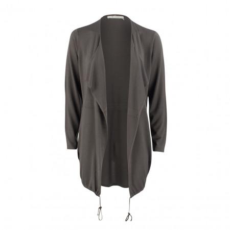 SALE % | Boss Casual | Cardigan - Slim Fit - offen | Grau online im Shop bei meinfischer.de kaufen