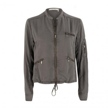 SALE % | Boss Casual | Jacke - Regular Fit - Zipptaschen | Grau online im Shop bei meinfischer.de kaufen