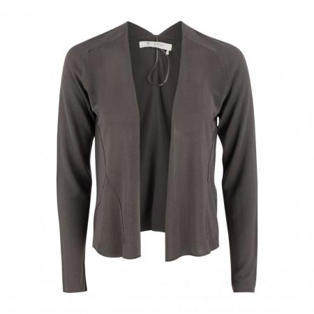SALE % | Boss Casual | Jacke - Slim Fit  - offen | Grau online im Shop bei meinfischer.de kaufen