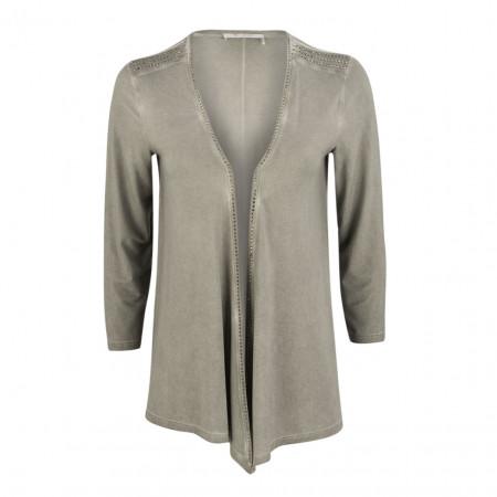 SALE %   Boss Casual   Jacke - Regular Fit - Strassdekor   Grau online im Shop bei meinfischer.de kaufen