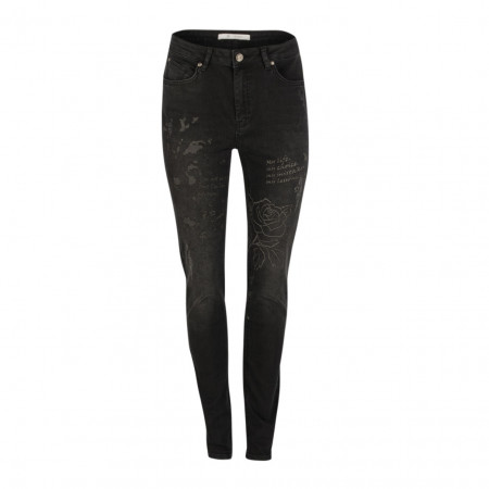 SALE % | Boss Casual | Jeans - Slim Fit - Print | Schwarz online im Shop bei meinfischer.de kaufen