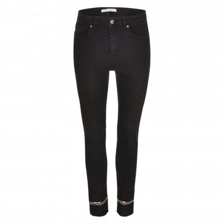 SALE % | Monari | Jeans - Slim Fit - unifarben | Schwarz online im Shop bei meinfischer.de kaufen