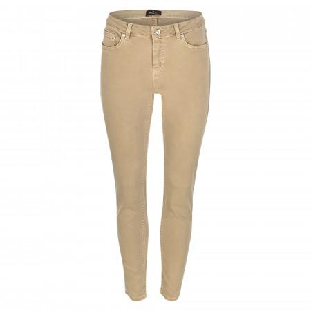 SALE % | Monari | Jeans - Regular Fit - Galonstreifen | Beige online im Shop bei meinfischer.de kaufen