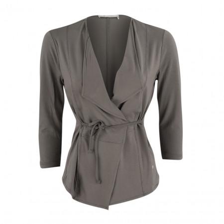 SALE % | Boss Casual | Jerseyjacke - Slim Fit - Taillenband | Grau online im Shop bei meinfischer.de kaufen