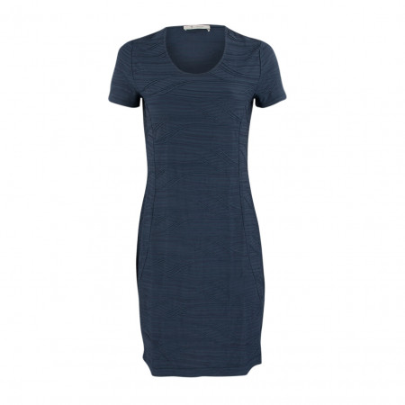 SALE % | Boss Casual | Kleid - Slim Fit - Design | Blau online im Shop bei meinfischer.de kaufen