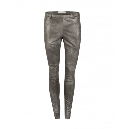 SALE % | Monari | Leggings in Leder-Optik | Grau online im Shop bei meinfischer.de kaufen