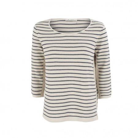SALE % | Monari | Pullover - Regular Fit - Stripes | Beige online im Shop bei meinfischer.de kaufen