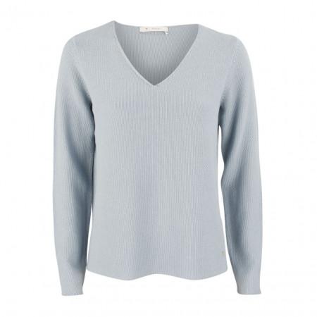 SALE % | Boss Casual | Strickpullover - Regular Fit - V-Neck | Blau online im Shop bei meinfischer.de kaufen