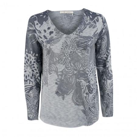 SALE % | Boss Casual | Pullover - Regular Fit - Strassdekor | Blau online im Shop bei meinfischer.de kaufen