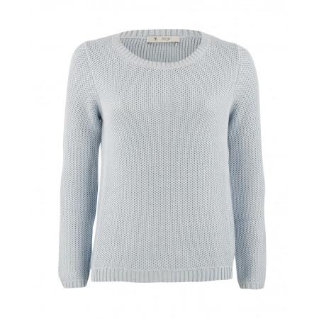 SALE % | Boss Casual | Pullover Rundhals | Blau online im Shop bei meinfischer.de kaufen