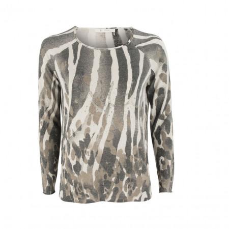 SALE % | Boss Casual | Pullover - Regular Fit - Camouflage | Beige online im Shop bei meinfischer.de kaufen