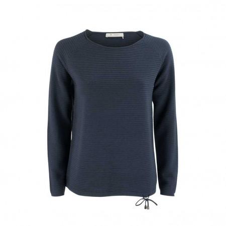 SALE % | Boss Casual | Pullover - Regular Fit - Kordelzug | Blau online im Shop bei meinfischer.de kaufen