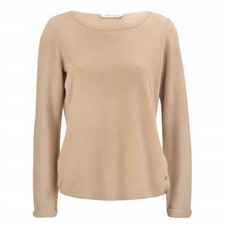 SALE %   Monari   Pullover - Comfort Fit - Crewneck   Braun online im Shop bei meinfischer.de kaufen
