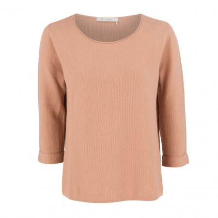 SALE % | Boss Casual | Strickpullover - Regular Fit - 3/4-Arm | Rosa online im Shop bei meinfischer.de kaufen