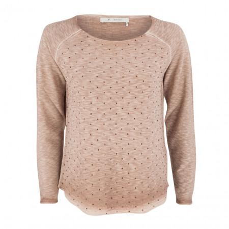 SALE % | Monari | Pullover - Regular Fit -Schmucksteine | Rosa online im Shop bei meinfischer.de kaufen