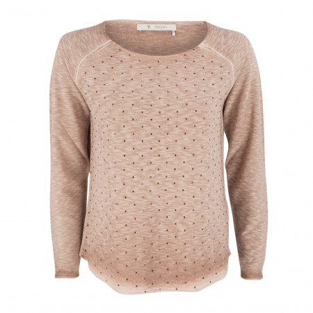 SALE % | Boss Casual | Pullover - Regular Fit -Schmucksteine | Rosa online im Shop bei meinfischer.de kaufen