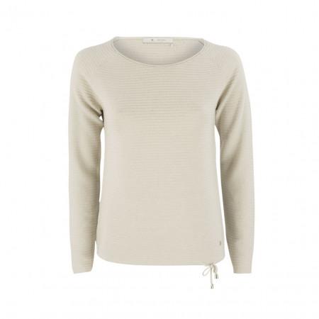 SALE % | Boss Casual | Pullover - Regular Fit - Kordelzug | Beige online im Shop bei meinfischer.de kaufen