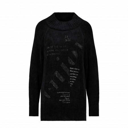SALE % | Monari | Pullover - Regular Fit - unifarben | Schwarz online im Shop bei meinfischer.de kaufen