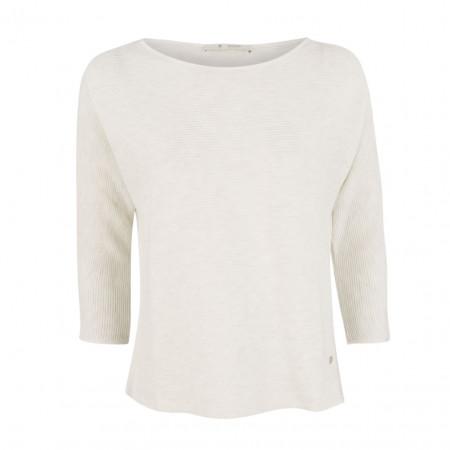 SALE % | Monari | Pullover - oversized - Ripp-Optik | Weiß online im Shop bei meinfischer.de kaufen
