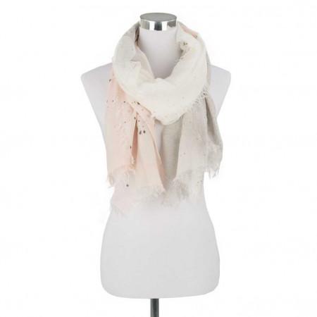 SALE % | Monari | Schal - Fransen - Muster | Weiß online im Shop bei meinfischer.de kaufen