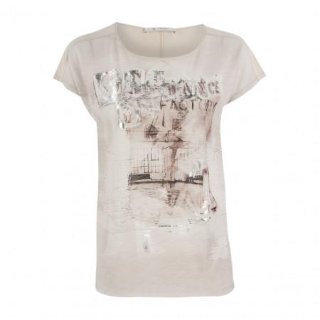 SALE % | Boss Casual | Shirt - oversized - Silverprint | Beige online im Shop bei meinfischer.de kaufen