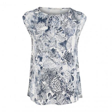 SALE % | Boss Casual | Jerseyshirt - Regular Fit - Print | Blau online im Shop bei meinfischer.de kaufen