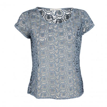 SALE % | Boss Casual | T-Shirt - Regular Fit - Spitze | Blau online im Shop bei meinfischer.de kaufen