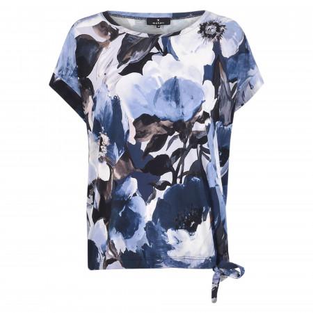 SALE %   Monari   Shirt - Loose Fit - Crewneck   Blau online im Shop bei meinfischer.de kaufen