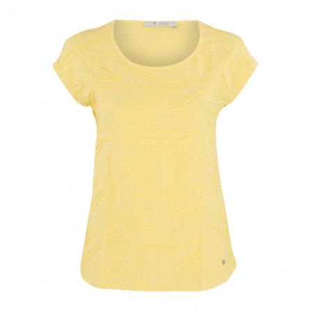 SALE % | Boss Casual | T-Shirt - Regular Fit  - Webstruktur | Gelb online im Shop bei meinfischer.de kaufen