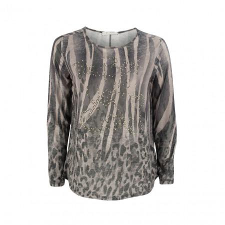 SALE % | Boss Casual | Shirt - Regular Fit - Strassdekor | Grau online im Shop bei meinfischer.de kaufen