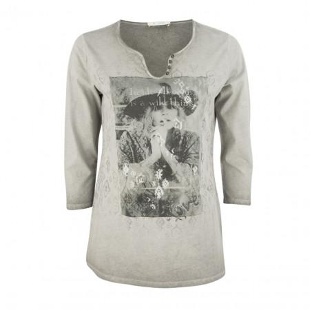 SALE % | Boss Casual | Shirt - Regular Fit - 3/4-Arm | Grau online im Shop bei meinfischer.de kaufen