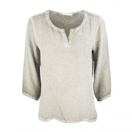 SALE %   Boss Casual   Shirt - Regular Fit - 3/4-Arm   Grau online im Shop bei meinfischer.de kaufen