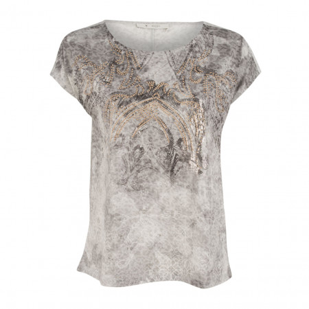 SALE % | Boss Casual | Shirt - Regular Fit - Nietendekor | Grau online im Shop bei meinfischer.de kaufen