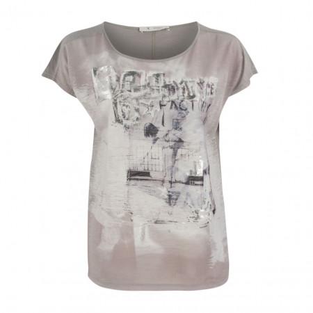 SALE % | Boss Casual | Shirt - oversized - Silverprint | Grau online im Shop bei meinfischer.de kaufen