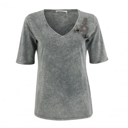 SALE %   Boss Casual   Shirt - oversized - Patches   Grau online im Shop bei meinfischer.de kaufen