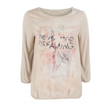 SALE % | Monari | Shirt - Regular Fit - -Frontprint | Beige online im Shop bei meinfischer.de kaufen