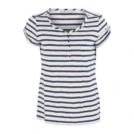 SALE % | Boss Casual | T-Shirt - Regular Fit - Marine-Look | Blau online im Shop bei meinfischer.de kaufen