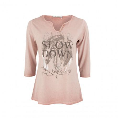 SALE % | Boss Casual | Shirt - Regular Fit - Strassdekor | Rosa online im Shop bei meinfischer.de kaufen