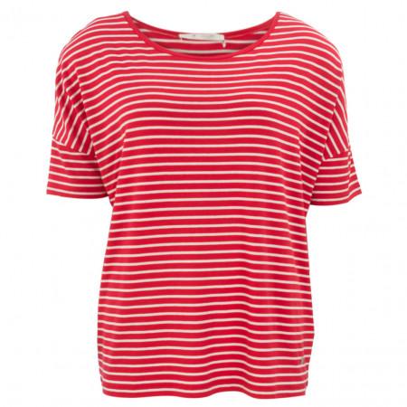 SALE % | Monari | Shirt - Comfort Fit - Stripes | Rot online im Shop bei meinfischer.de kaufen