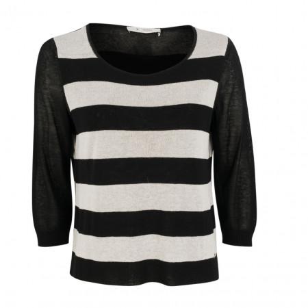 SALE % | Monari | Shirt - Leisure Fit - Glitzer | Schwarz online im Shop bei meinfischer.de kaufen