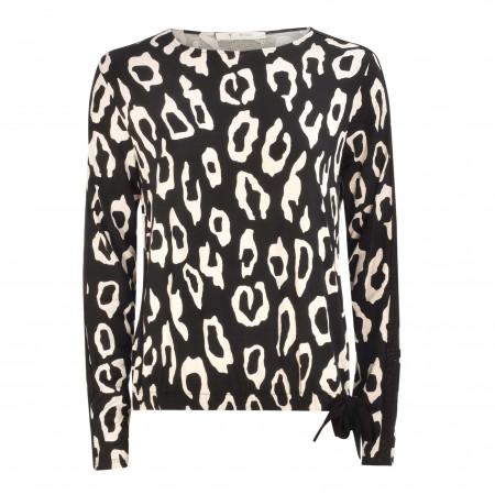 SALE %   Monari   Shirt - Comfort Fit - Print   Schwarz online im Shop bei meinfischer.de kaufen