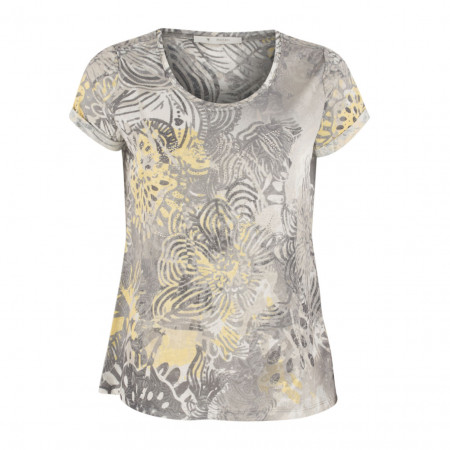 SALE % | Boss Casual | T-Shirt - Regular Fit - Strassdekor | Gelb online im Shop bei meinfischer.de kaufen