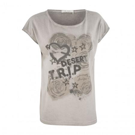 SALE % | Boss Casual | Shirt - oversized - Print | Beige online im Shop bei meinfischer.de kaufen